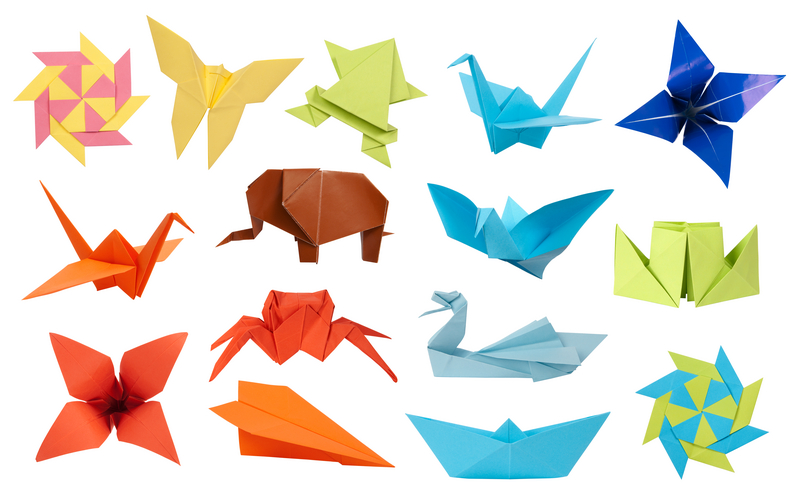 Train En Origami